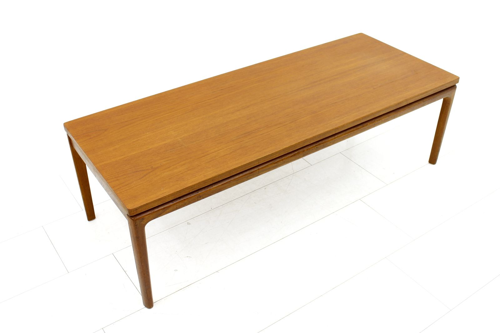 Danish Teak Coffee Table By Ole Wanscher For France Son