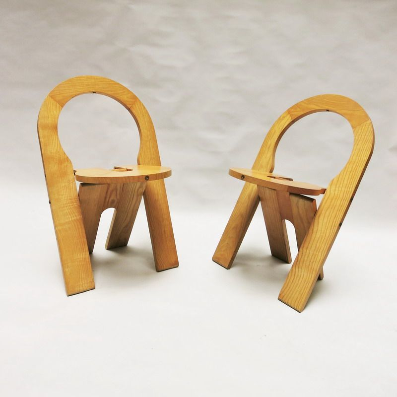 French ts chairs by roger tallon for sentou 1978 set of 2 for sale at pamono - Chaise isabelle sentou ...