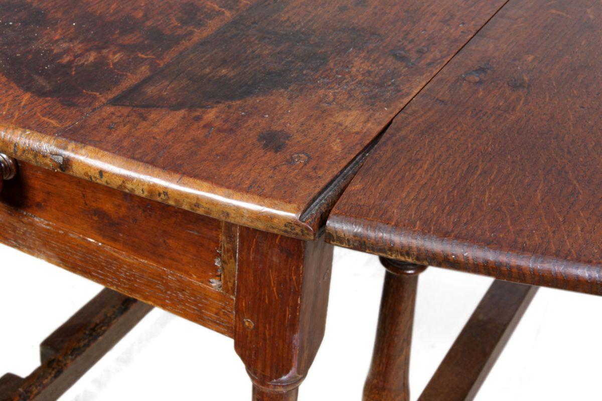 antique oak drop leaf table 1760s for sale at pamono antique