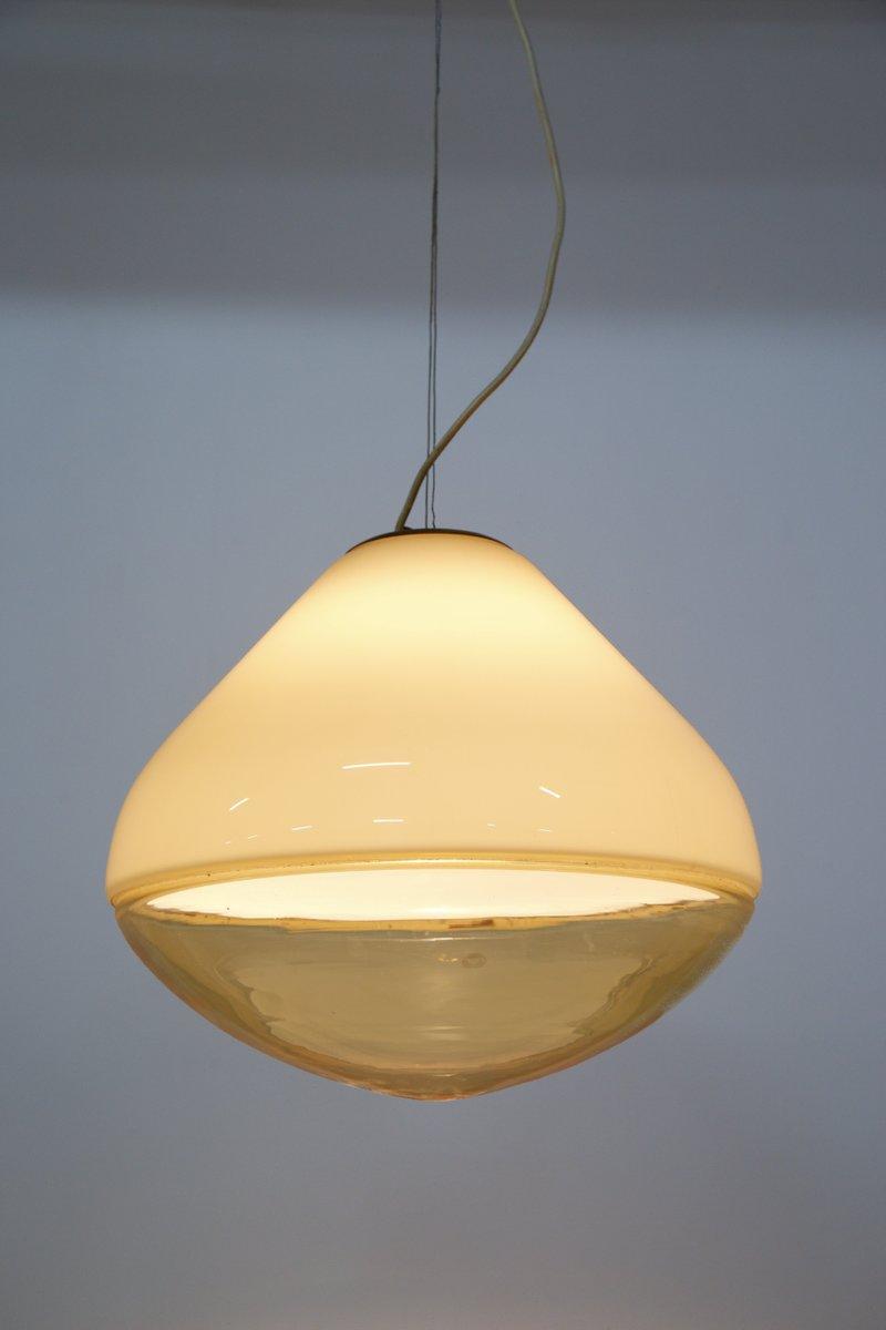mundgeblasene mid century murano glas lampe von res bei. Black Bedroom Furniture Sets. Home Design Ideas
