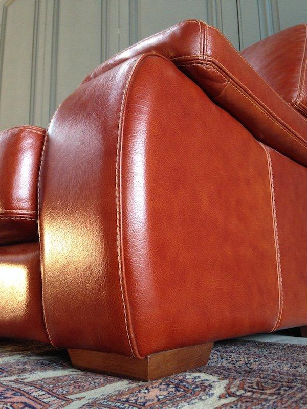 lovely italian leather sofa cochabamba