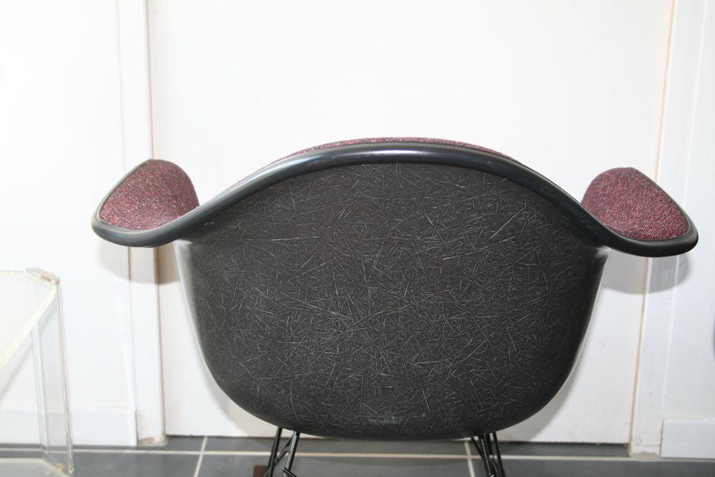 fauteuil bascule rar vintage bordeaux par charles ray. Black Bedroom Furniture Sets. Home Design Ideas
