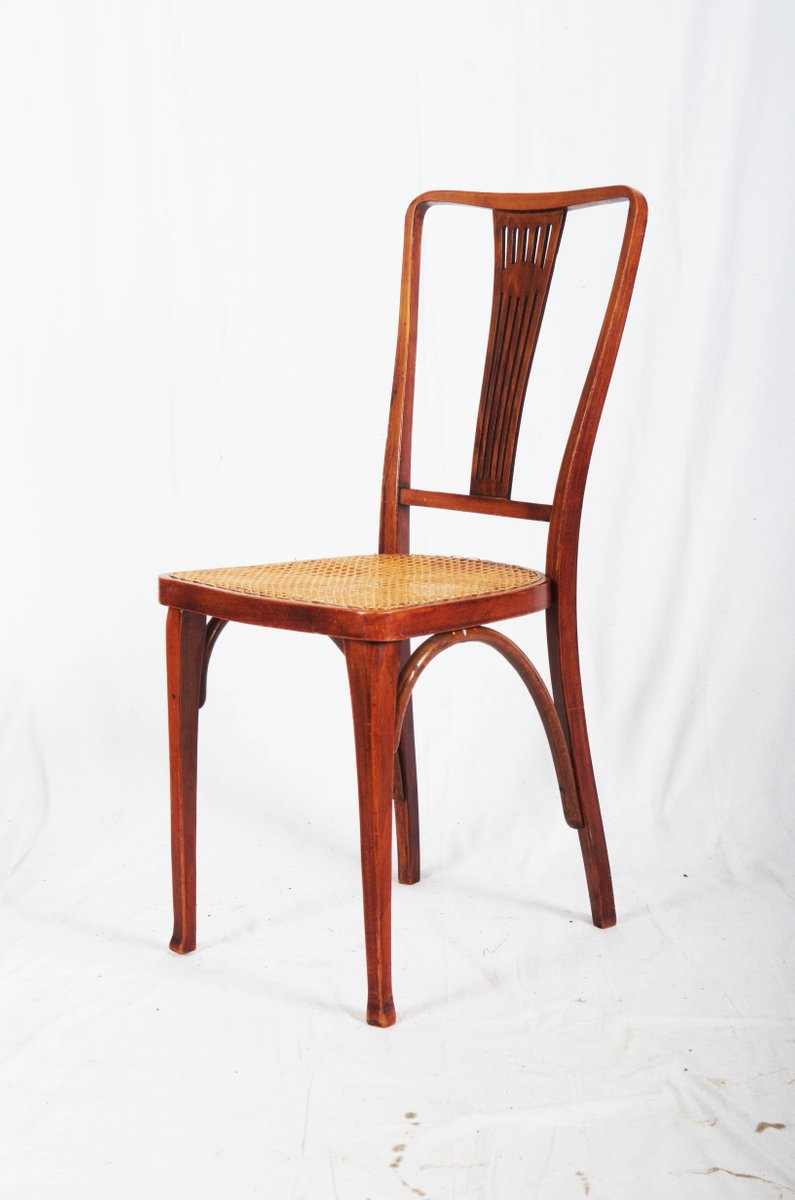 Antike Stühle Jugendstil : antike jugendstil thonet st hle aus buche schilfrohr von ~ Michelbontemps.com Haus und Dekorationen