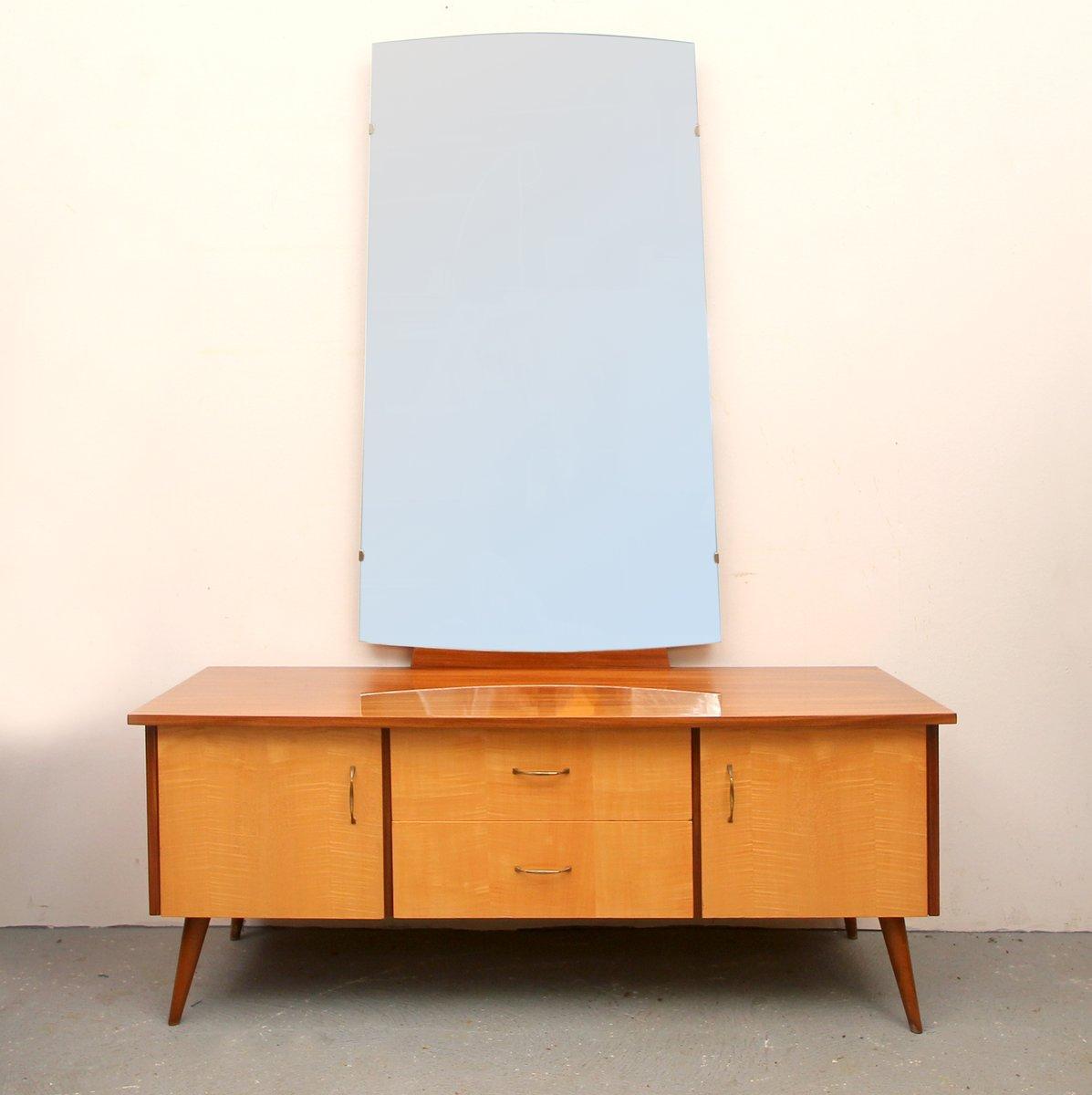 spiegel sideboard 1950er bei pamono kaufen. Black Bedroom Furniture Sets. Home Design Ideas