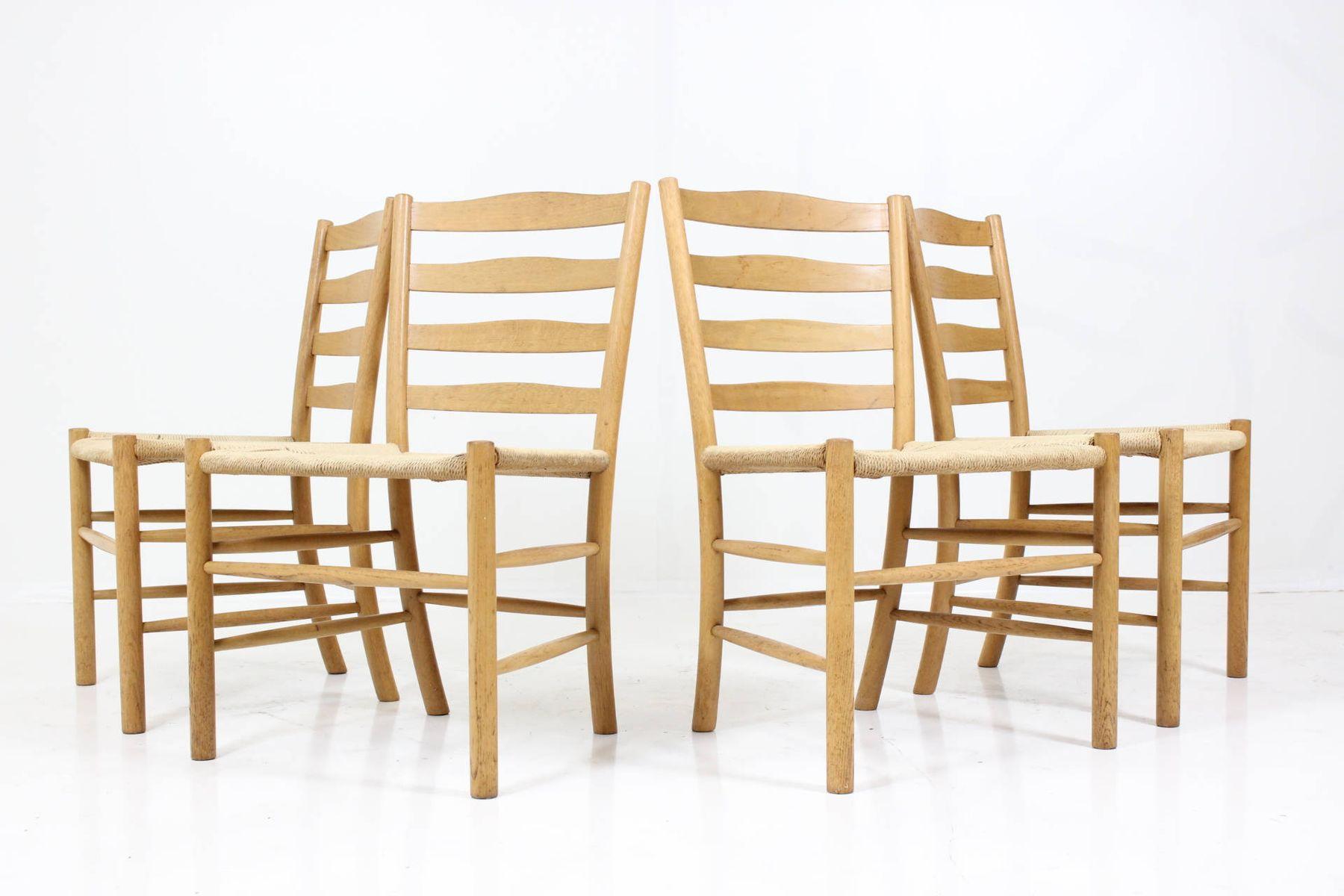 church chairs by kaare klint for fritz hansen set of 4 church chairs