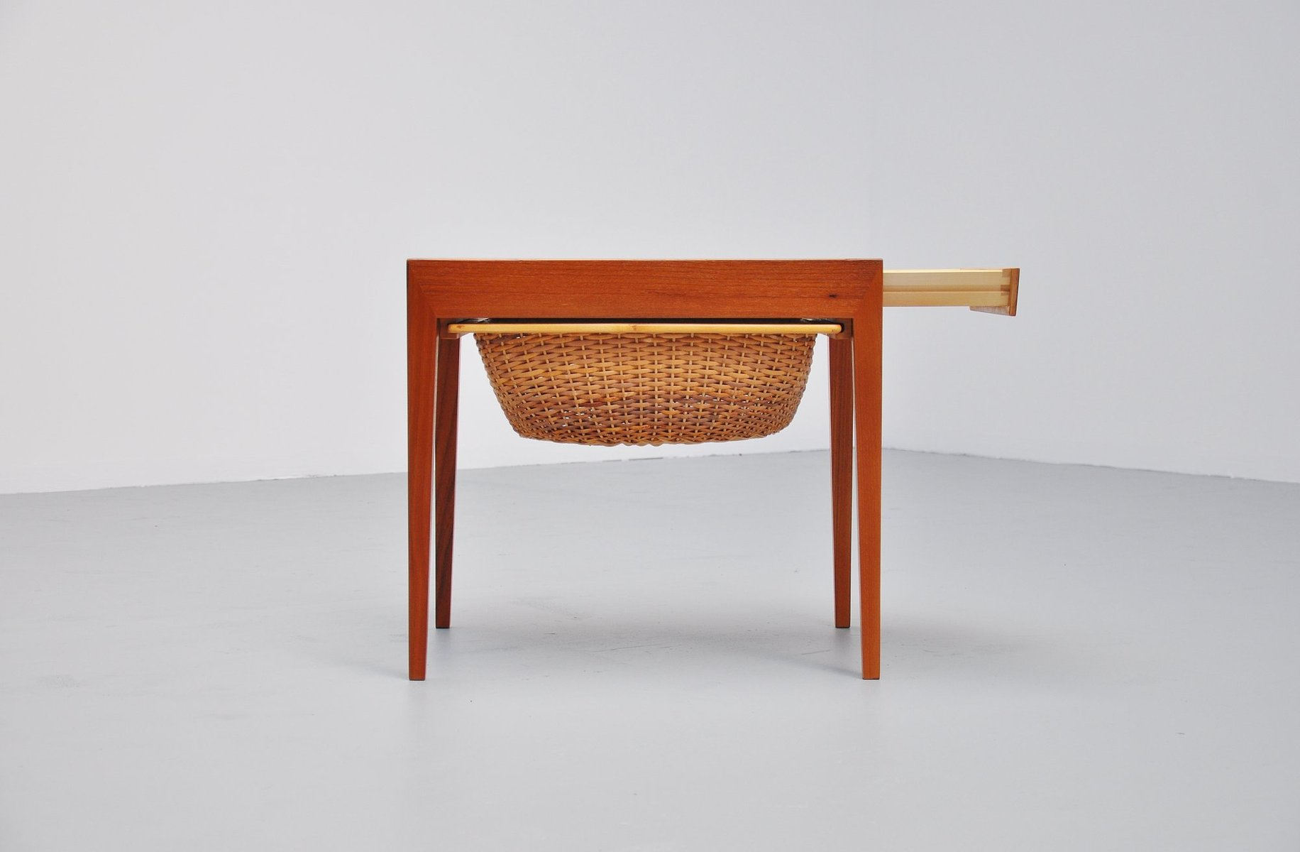 Sewing Table by Severin Hansen for Haslev Denmark 1955 for sale