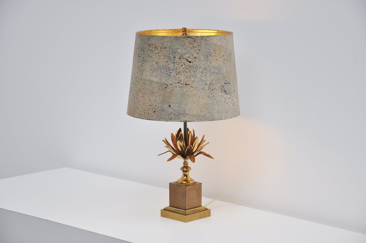 Artichoke Table Lamp From Maison Charles, 1970
