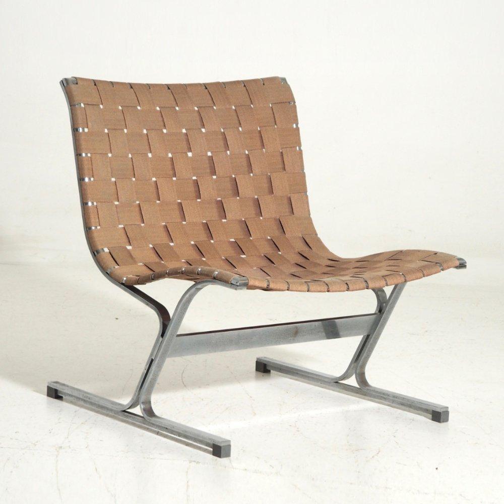 italienischer lounge stuhl 1960er bei pamono kaufen. Black Bedroom Furniture Sets. Home Design Ideas