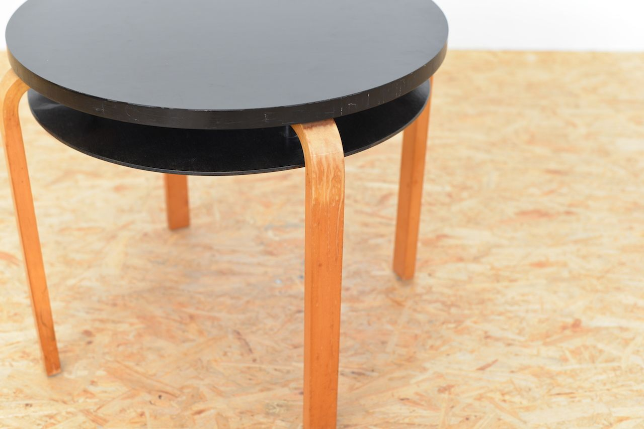Vintage swiss model 70 coffee table by alvar aalto for for Coffee table 70 x 70