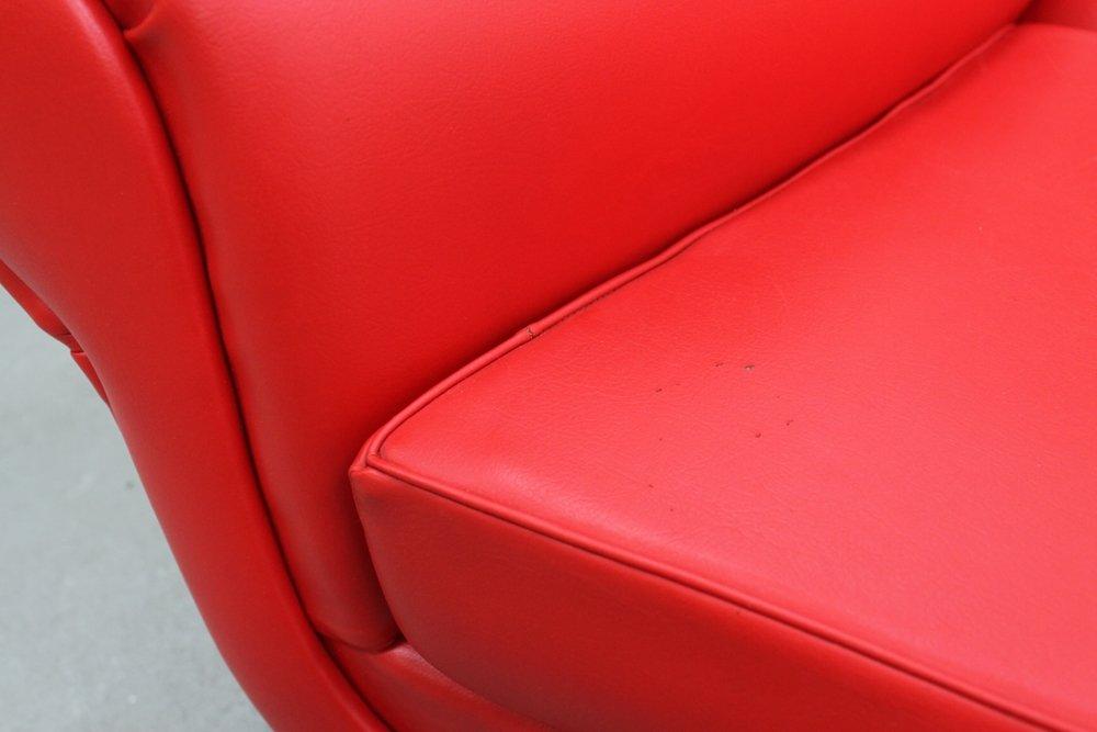 canap courb mid century par gigi radice pour minotti. Black Bedroom Furniture Sets. Home Design Ideas
