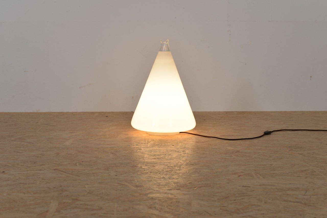 italienische stehlampe mit glasleuchten von leucos 1960er bei pamono kaufen. Black Bedroom Furniture Sets. Home Design Ideas