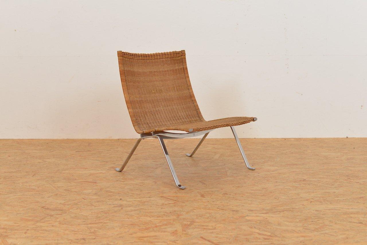 PK22 Sessel von Poul Kjaerholm für E Kold Christensen, 1950er bei Pamono kaufen