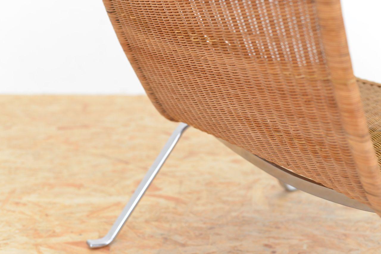 Pk22 Wicker Chair overview Poul Kjaerholm Pk22 Easy Chair In