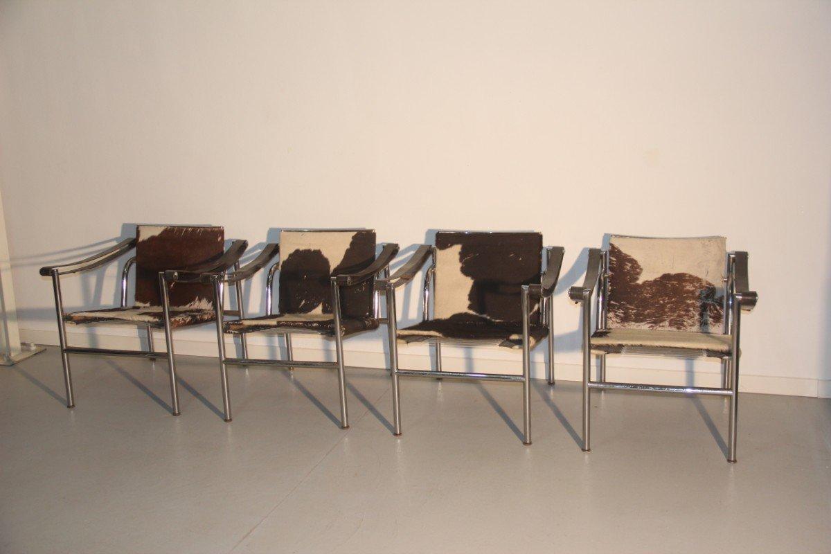 Good sedie lc di le corbusier per cassina francia anni u for Sedia design anni 70