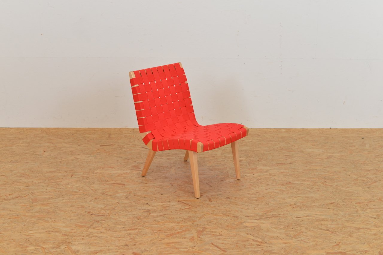 American 654 lounge chair by jens risom for knoll 1950s for 1950s chaise lounge