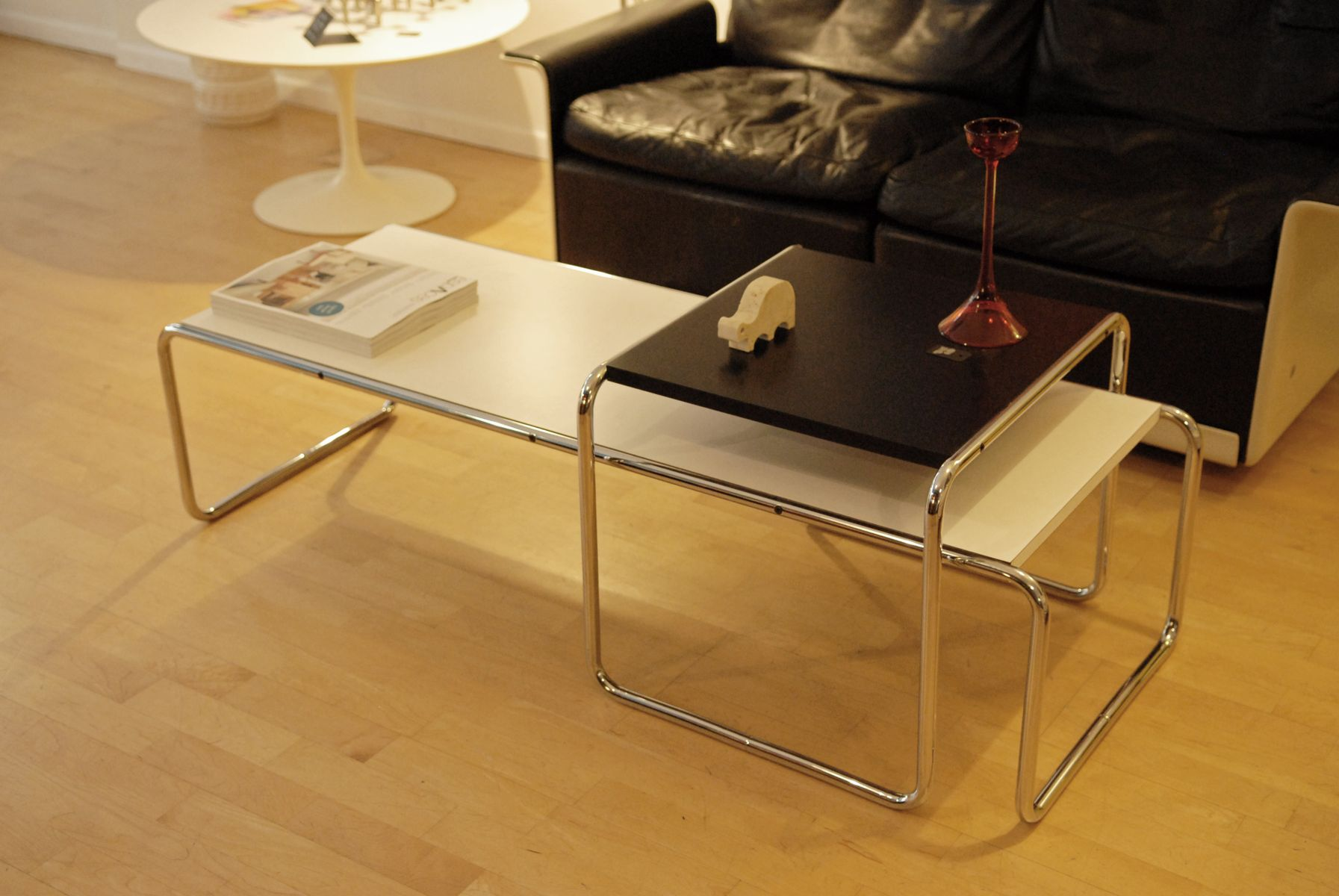 Laccio Tables By Marcel Breuer For Gavina 1965 Set Of 2