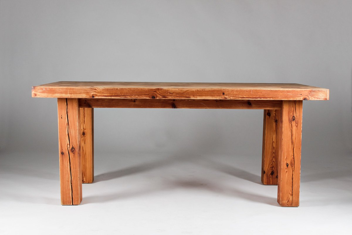 swedish pine barn table