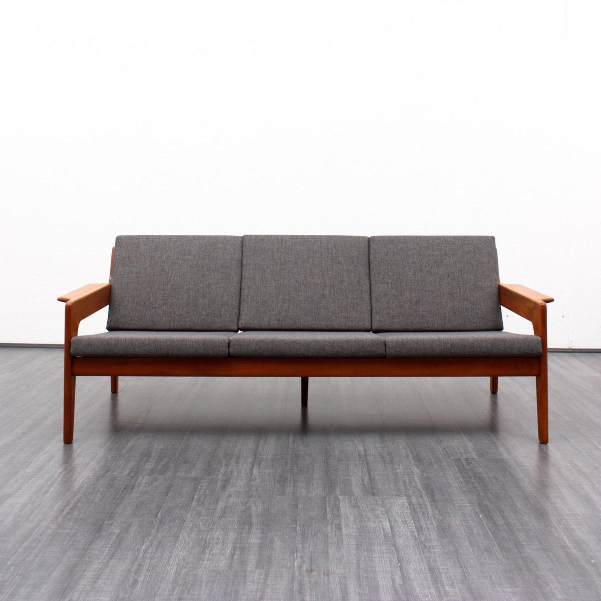 Mid Century Danish Teak Sofa By Arne Wahl Iversen For Komfort 1960s For Sale
