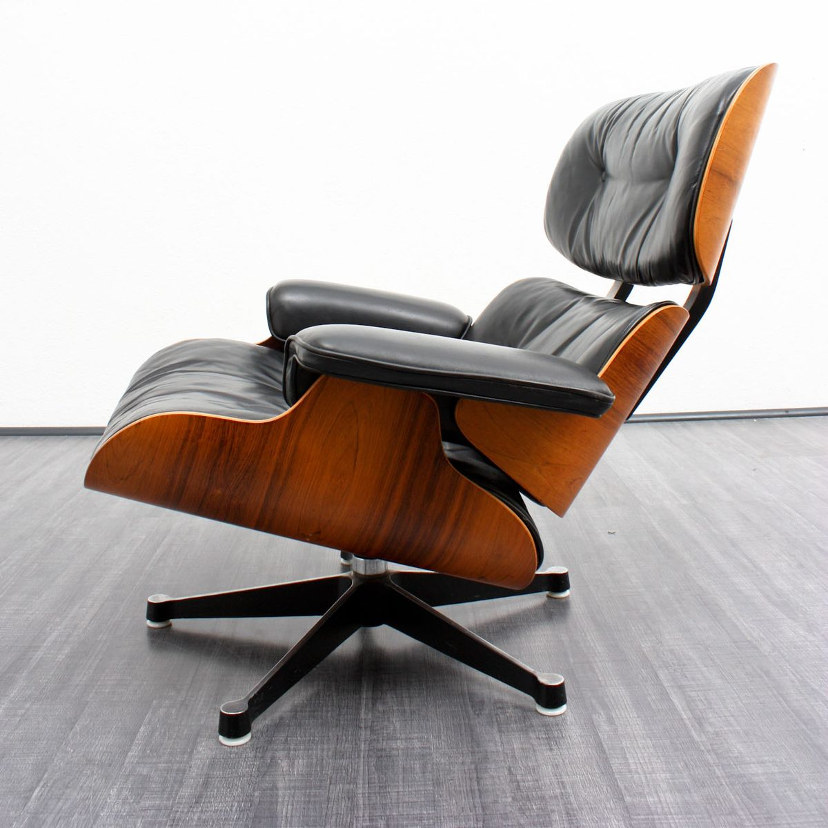 Lounge chair and ottoman by charles eames for herman - Herman miller eames lounge chair and ottoman ...