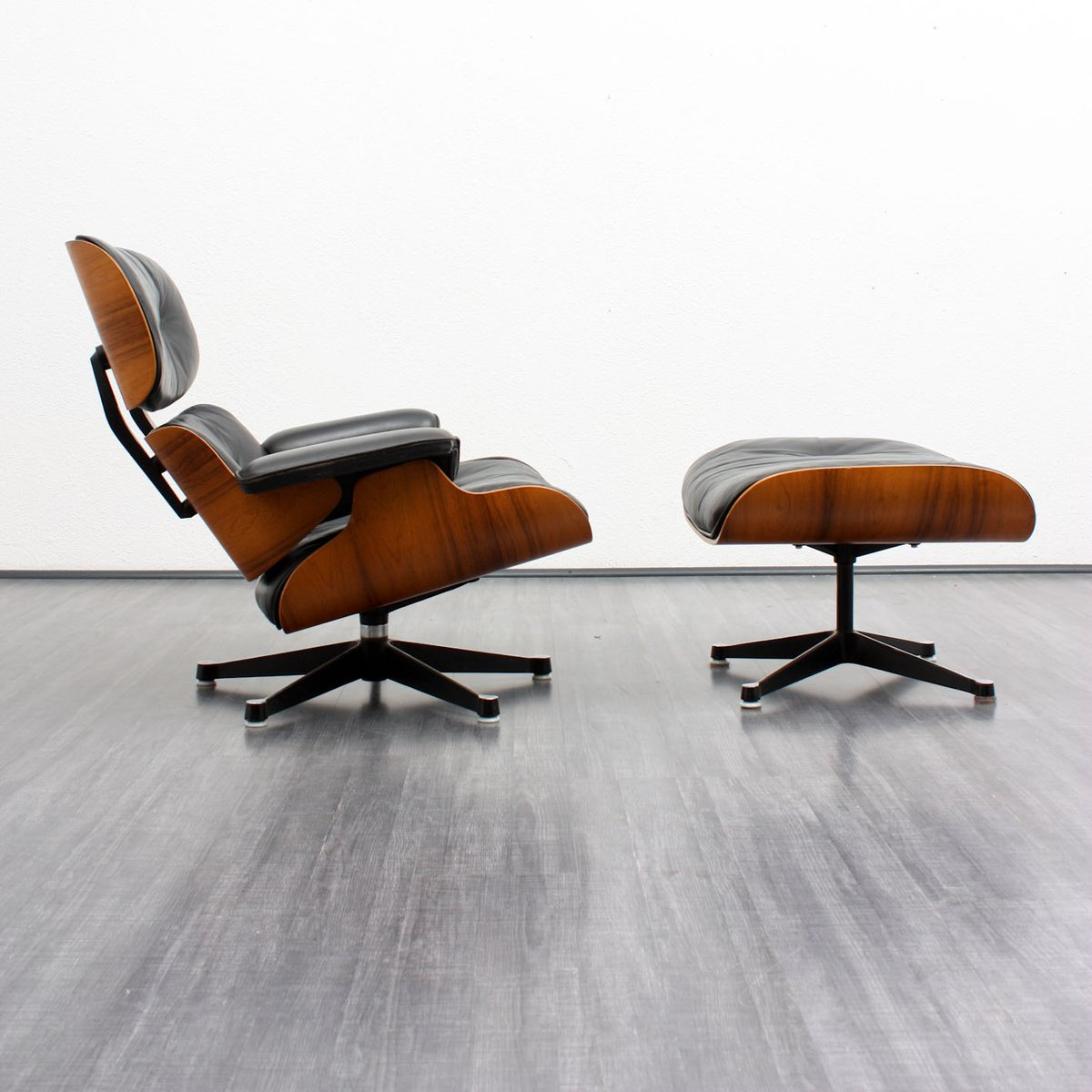 Lounge Chair and Ottoman by Charles Eames for Herman