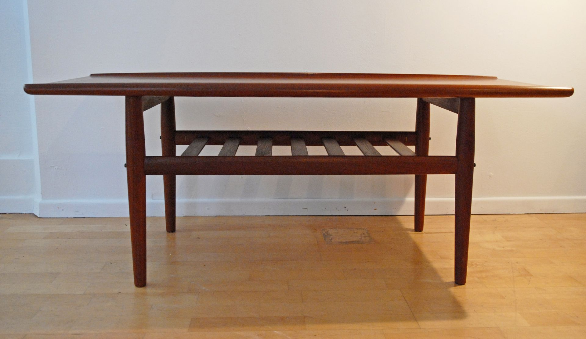 Danish Teak Coffee Table By Grete Jalk For Glostrup M Belfabrik 1960s For Sale At Pamono