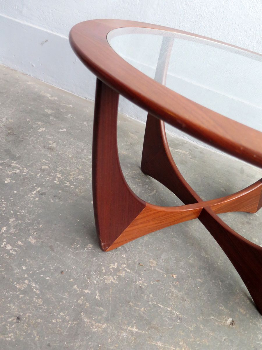 Vintage Teak Astro Coffee Table For Sale At Pamono
