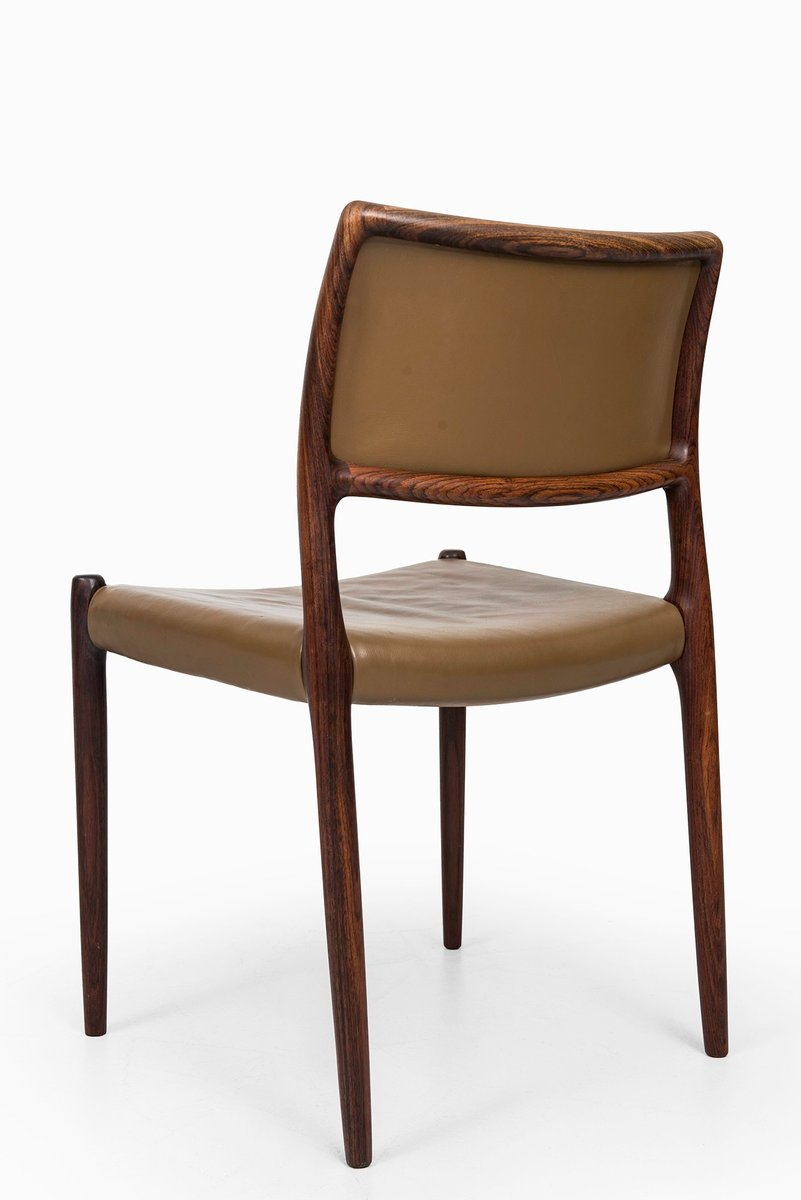 Model 80 dining chairs by niels o m ller for j l m llers for 80s furniture for sale