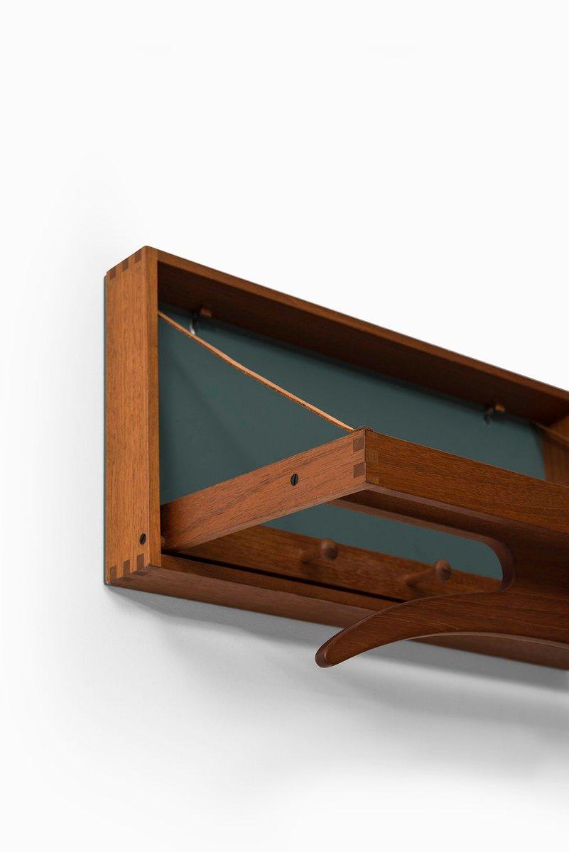 stummer diener aus teakholz von adam hoff poul. Black Bedroom Furniture Sets. Home Design Ideas