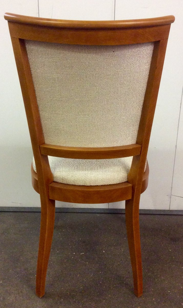Art Deco French Dining Chairs, 1930s, Set of 6 for sale at Pamono