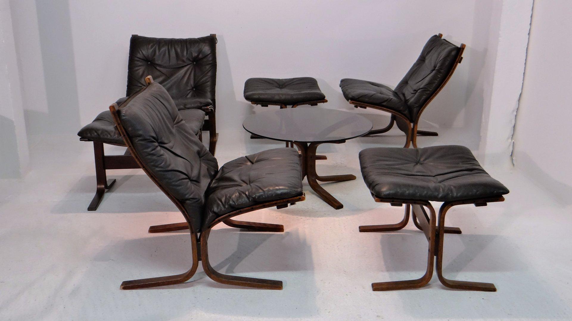 Vintage living room set by ingmar relling for westnofa for sale at