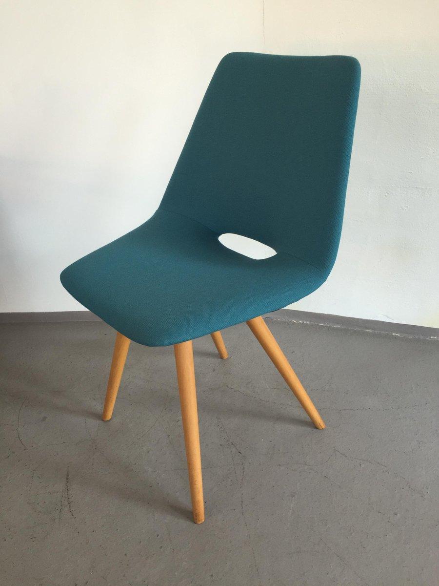 deutscher muschel stuhl von thonet 1960er bei pamono kaufen. Black Bedroom Furniture Sets. Home Design Ideas
