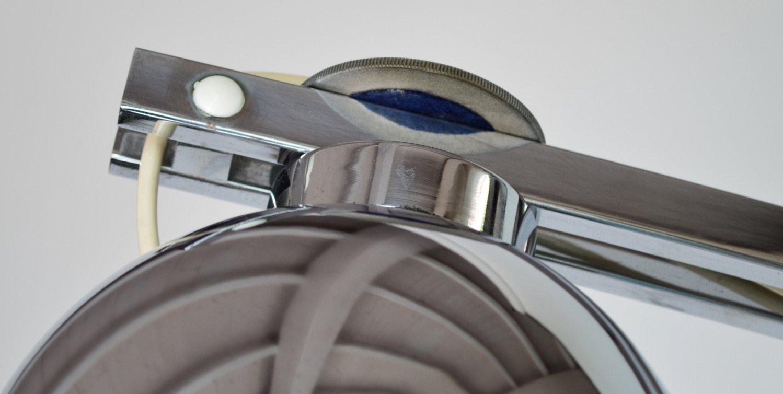 magnetische italienische stehlampe aus chrom von reggiani 1970er bei pamono kaufen. Black Bedroom Furniture Sets. Home Design Ideas