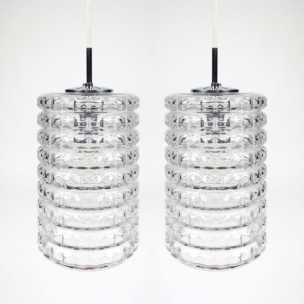 Dutch Glass Pendants 1960s Set Of 2 For Sale At Pamono
