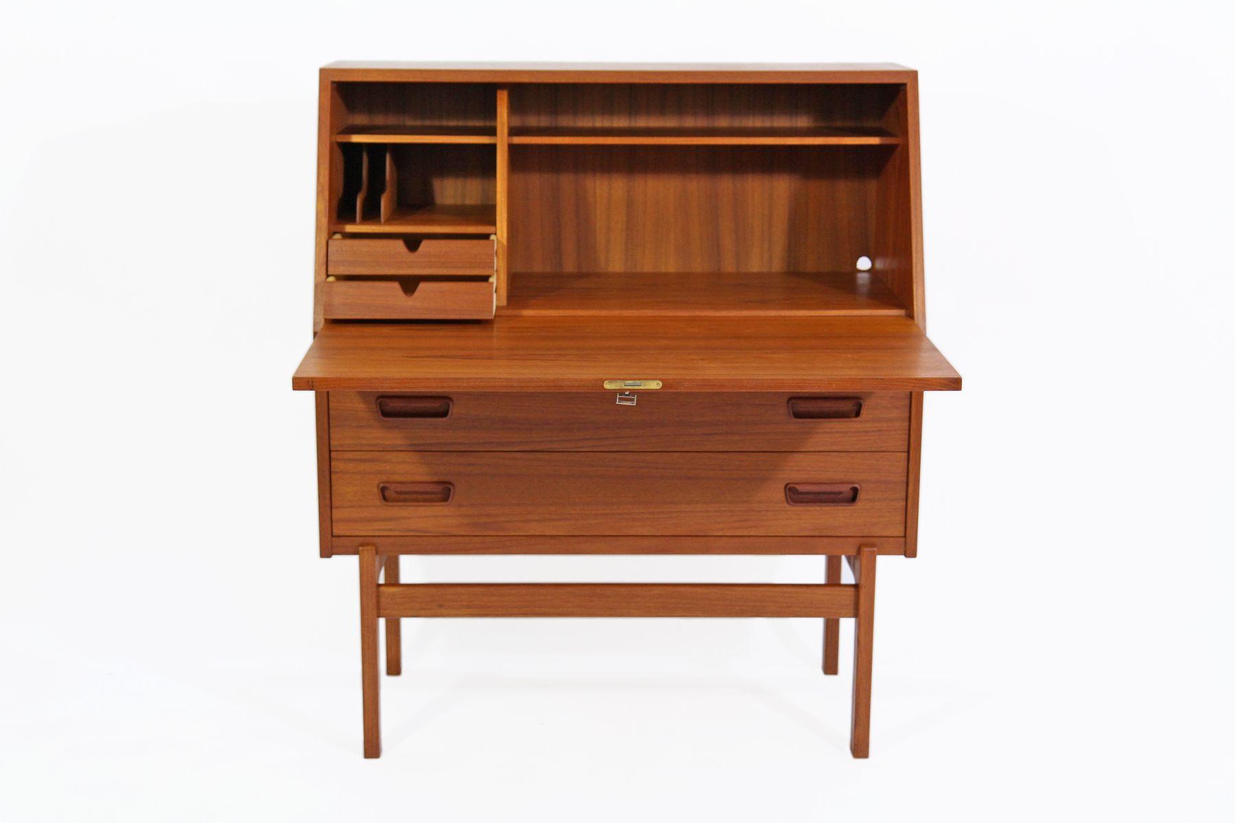 mod 68 teak sekret r von arne wahl iversen f r vinde. Black Bedroom Furniture Sets. Home Design Ideas