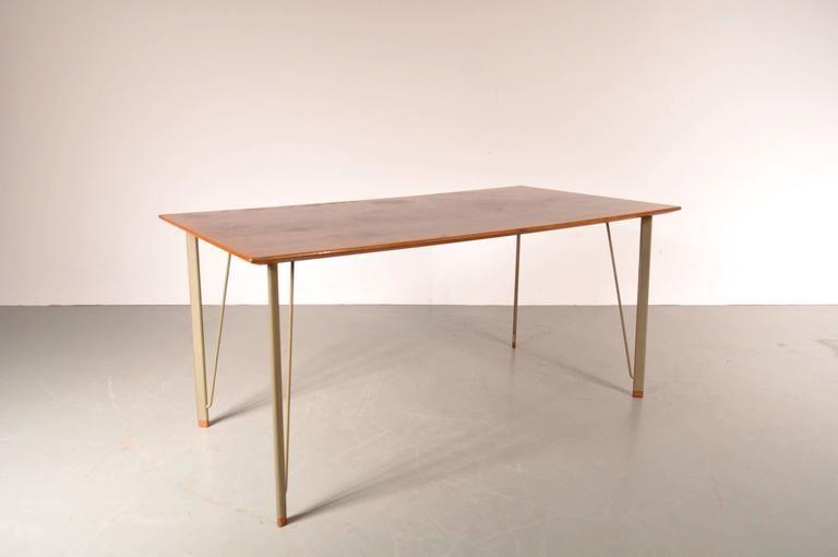 Tavolo da pranzo di Arne Jacobsen per Fritz Hansen, Danimarca ...