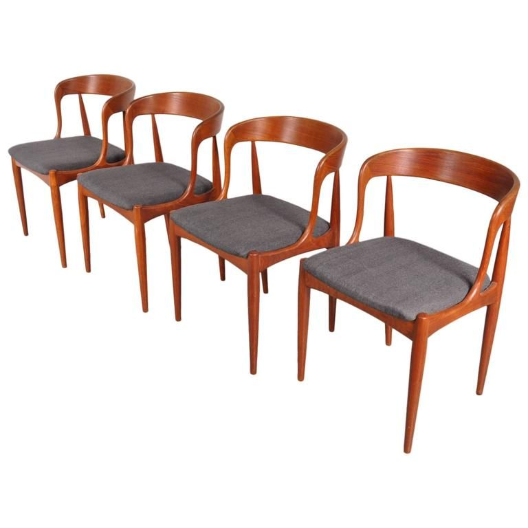 danish dining chairs by johannes andersen for uldum mobelfabrik 1950s