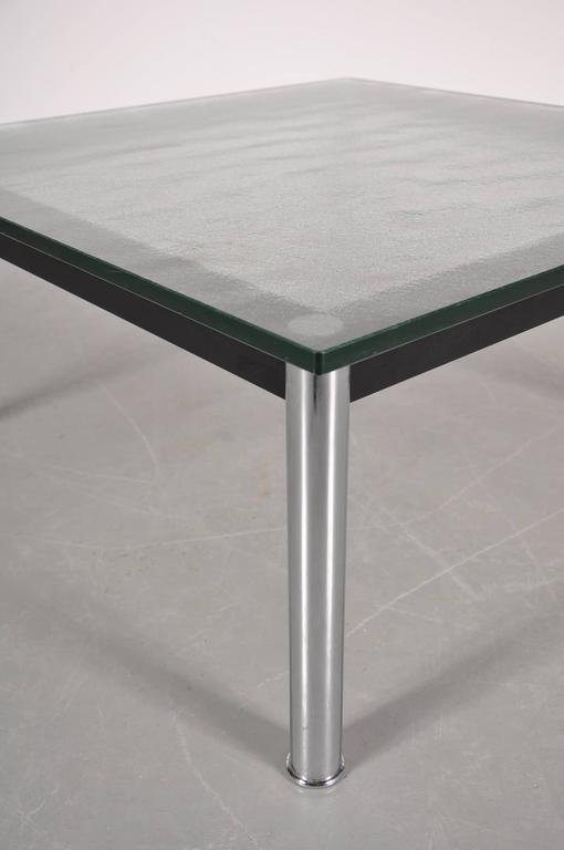 Italian LC10 Coffee Table By Le Corbusier For Cassina