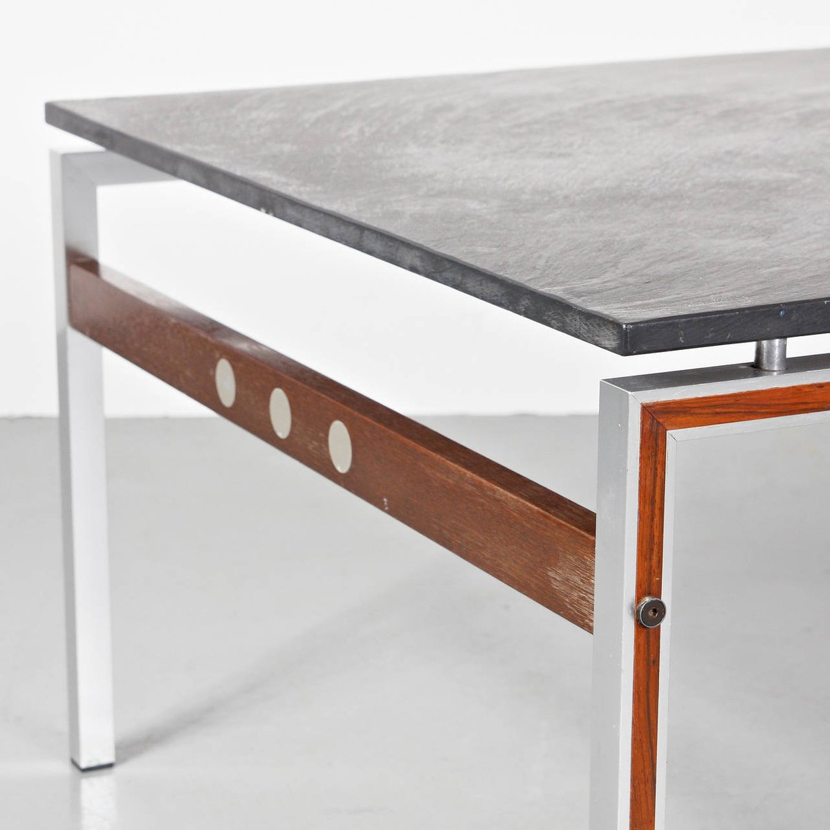 Danish coffee table with slate stone top 1960s for sale at pamono danish coffee table with slate stone top 1960s 8 324600 price per piece geotapseo Gallery