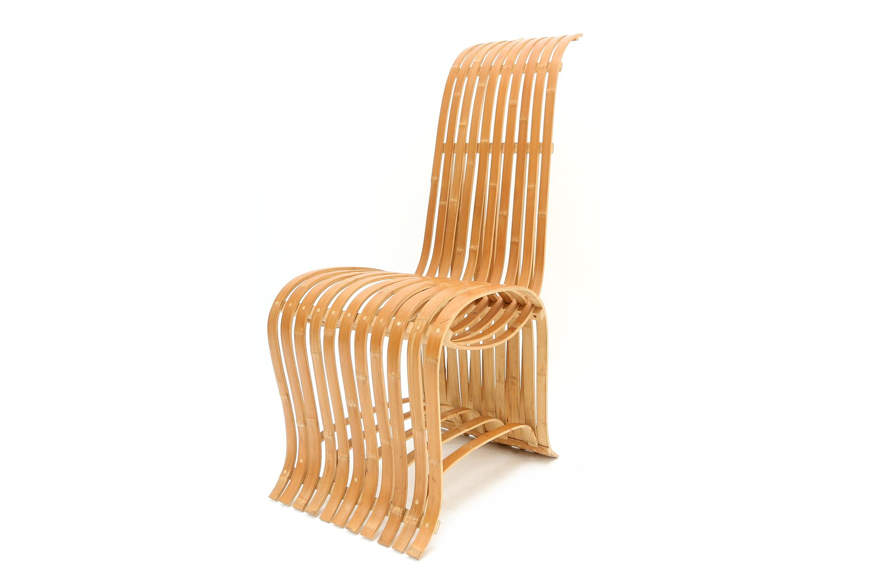 Vintage Bamboo Chair for sale at Pamono