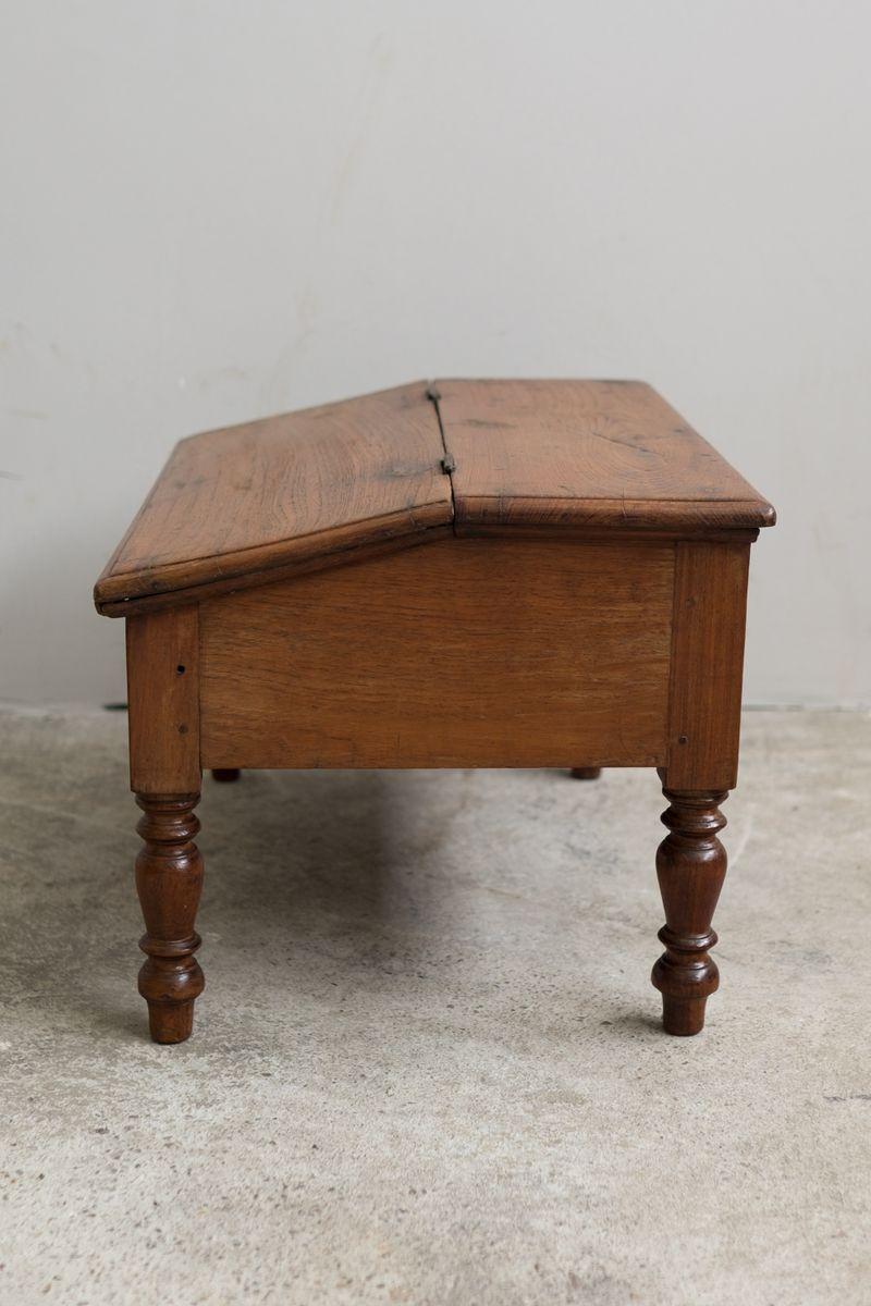 Indian Teak Floor Desk 1890s for sale at Pamono