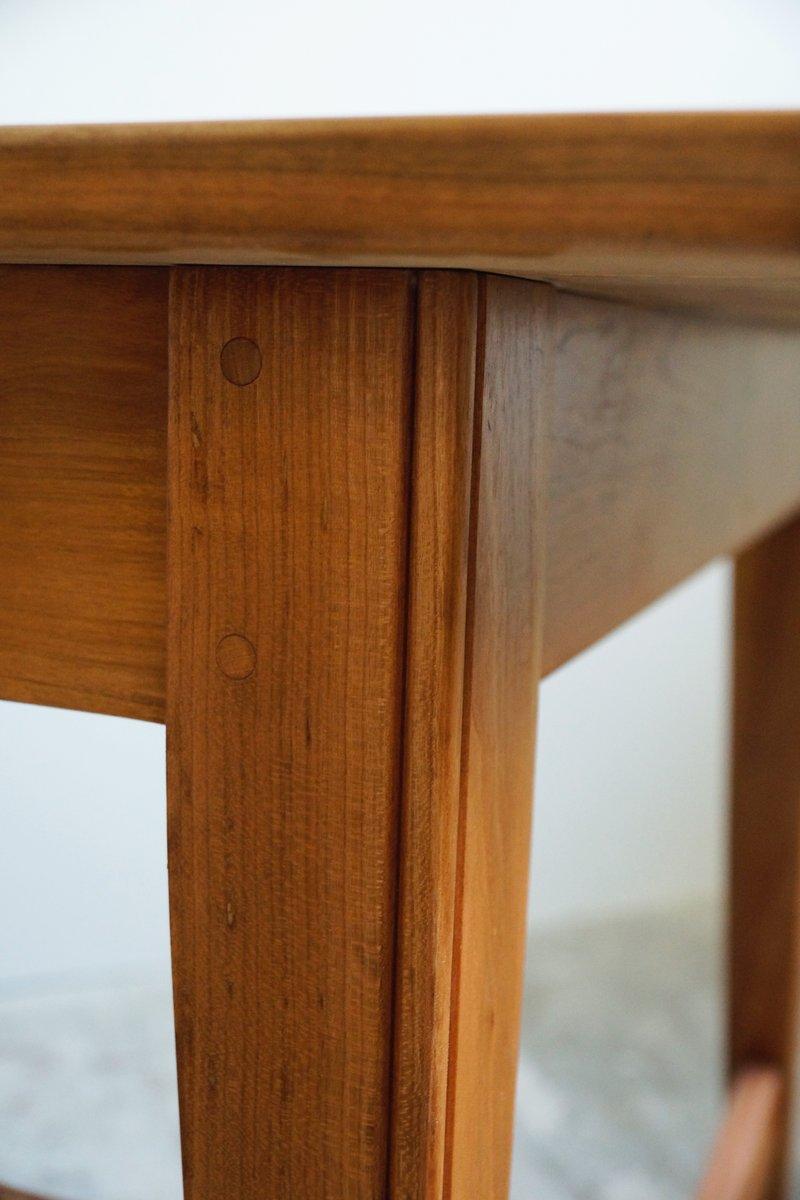 Esstisch aus solidem kirschholz 1930er bei pamono kaufen for Esstisch kirschholz