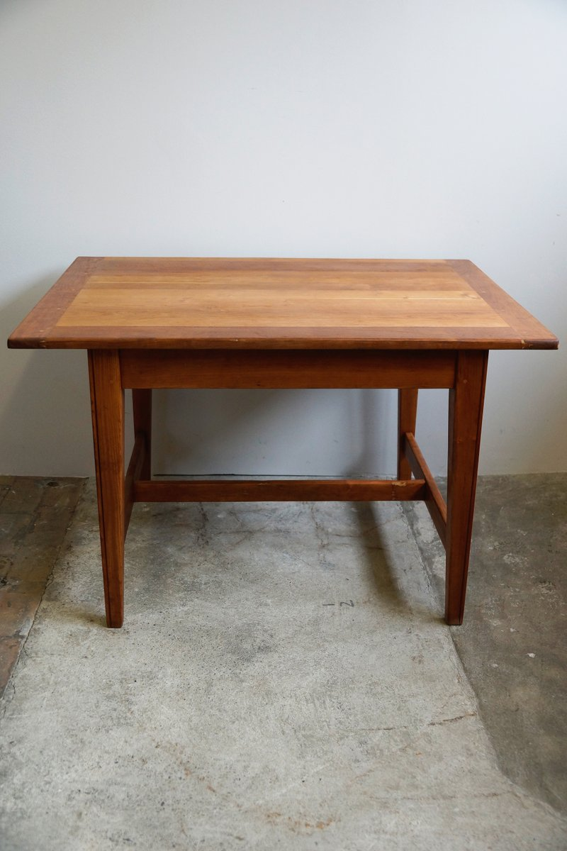 Solid cherry dining table 1930s for sale at pamono for Cherry dining table