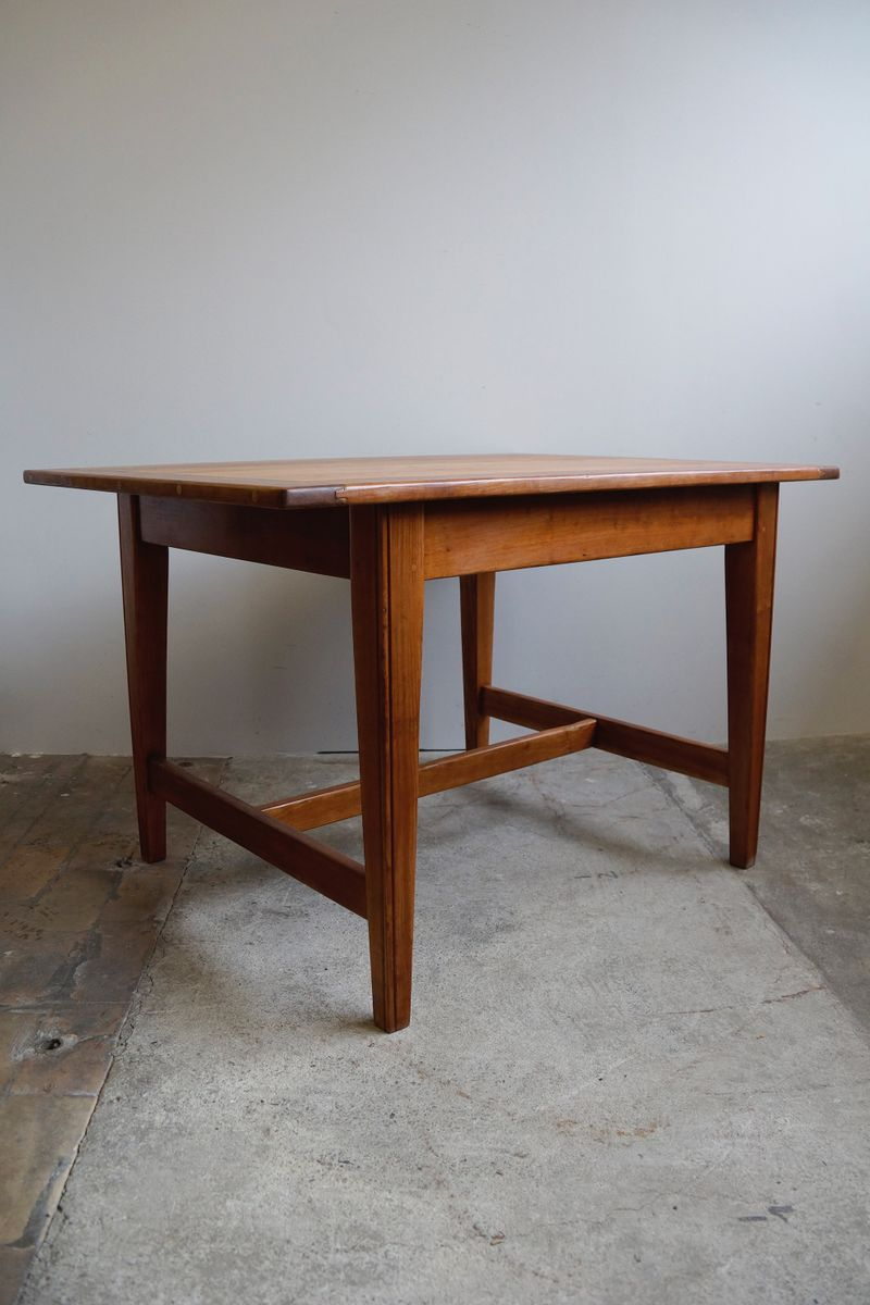 Solid cherry dining table 1930s for sale at pamono for 1930 kitchen table