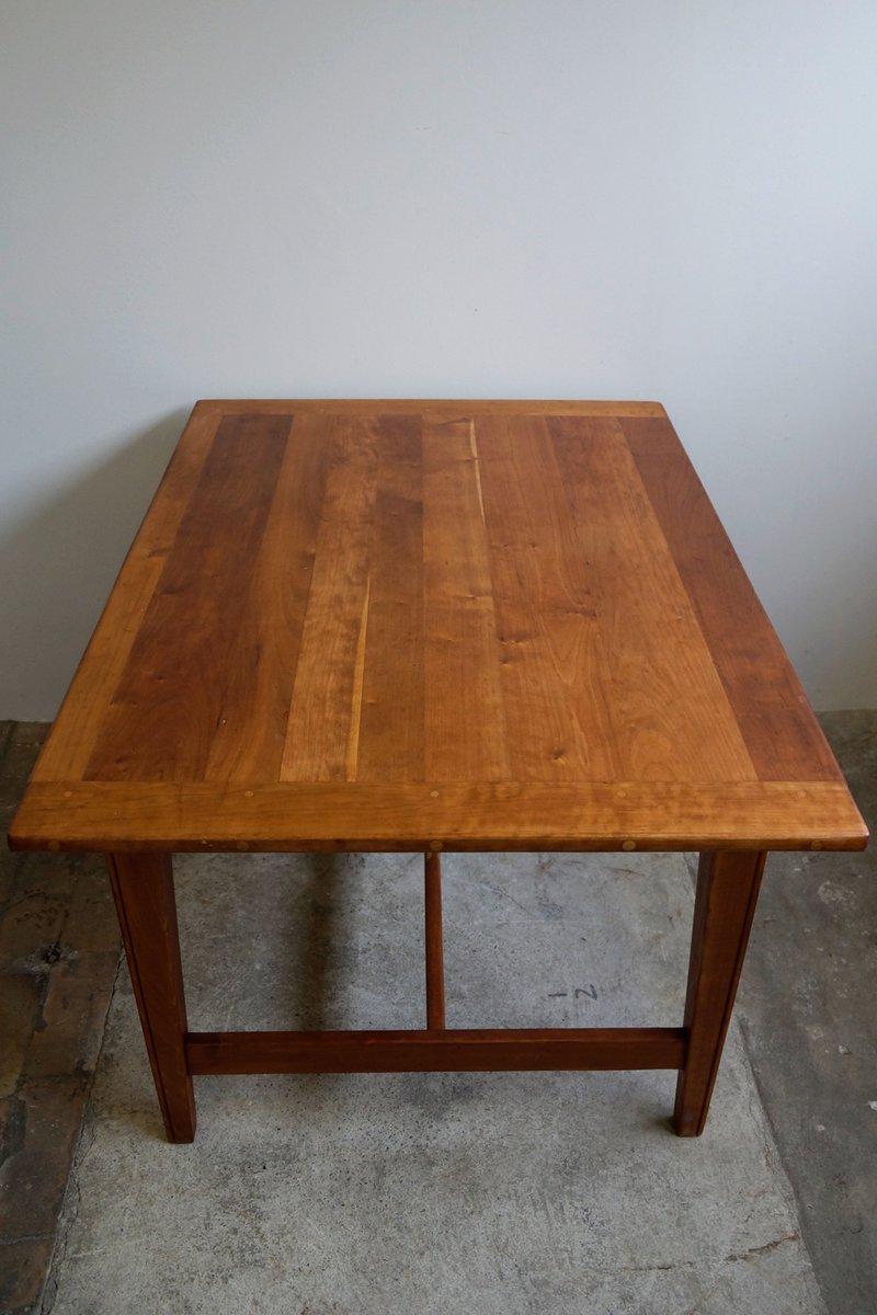 Table de salle manger en cerisier massif 1930s en vente for Salle a manger 1920