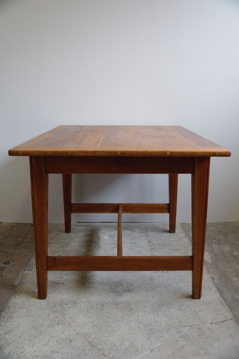 solid cherry dining table 1930s for sale at pamono