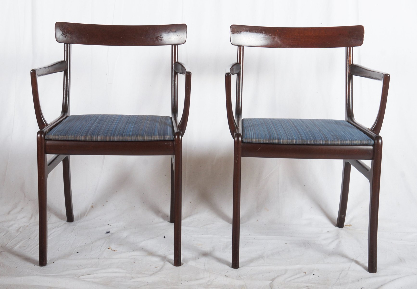 Rungstedlund Dining Table and Eight Chairs by Ole Wanscher for
