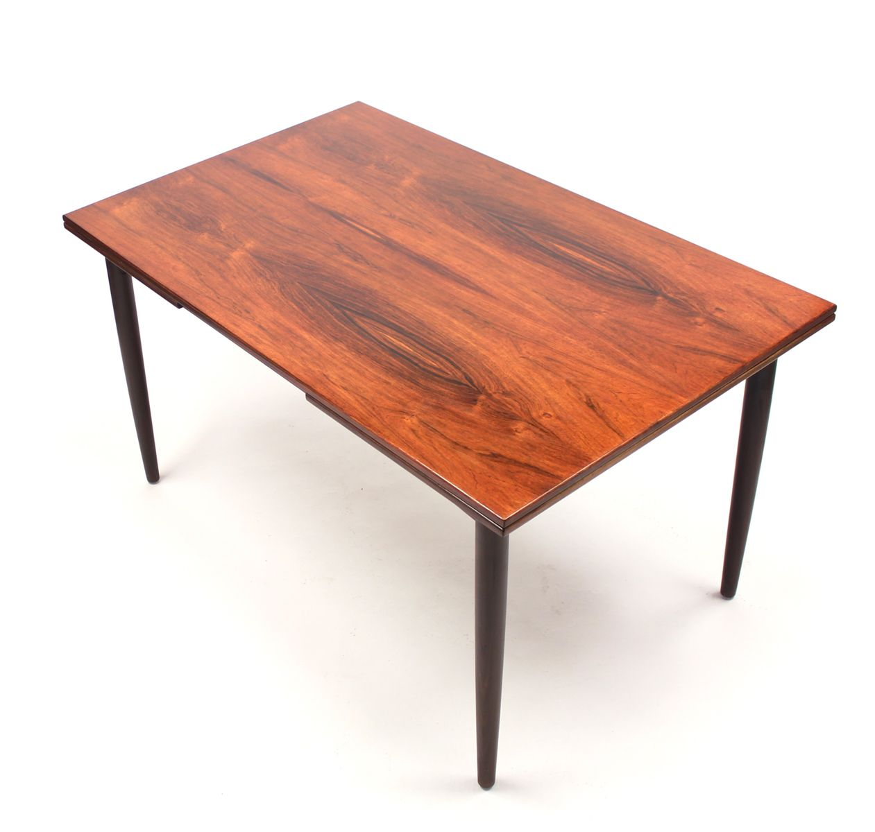 mid century danish rosewood dining table with dutch style di