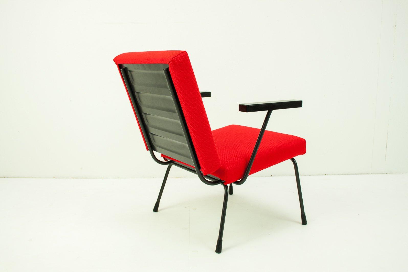 415 1401 stuhl von wim rietveld f r gispen 1950er bei. Black Bedroom Furniture Sets. Home Design Ideas