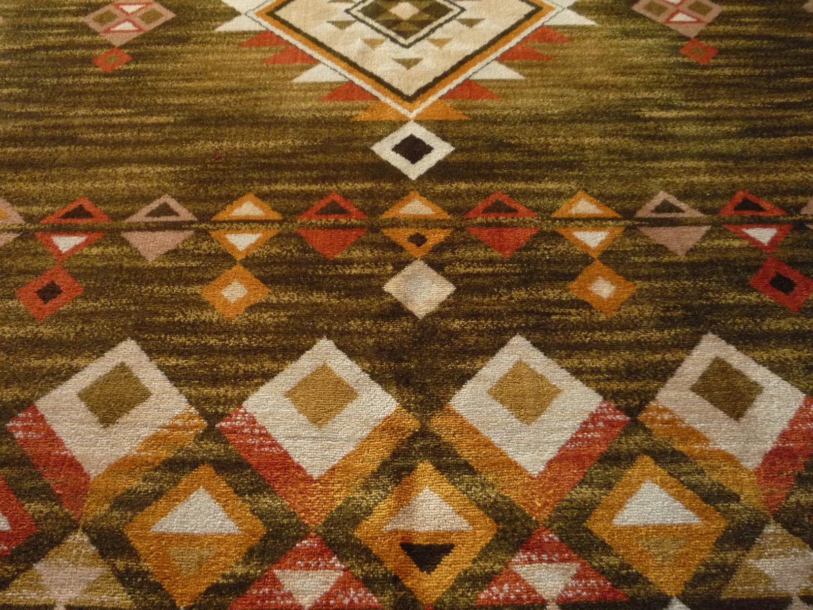 abstrakter deutscher teppich von schaeffler 1960er bei pamono kaufen. Black Bedroom Furniture Sets. Home Design Ideas