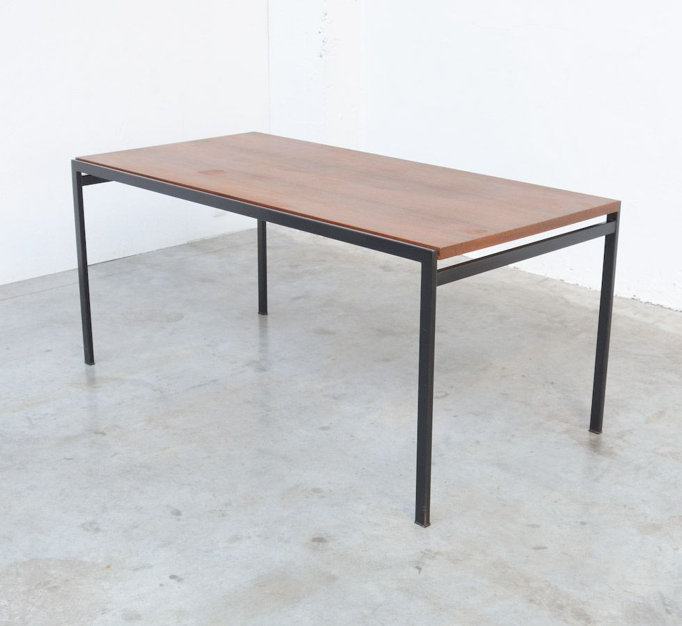 minimal dining table by cees braakman for pastoe for sale. Black Bedroom Furniture Sets. Home Design Ideas